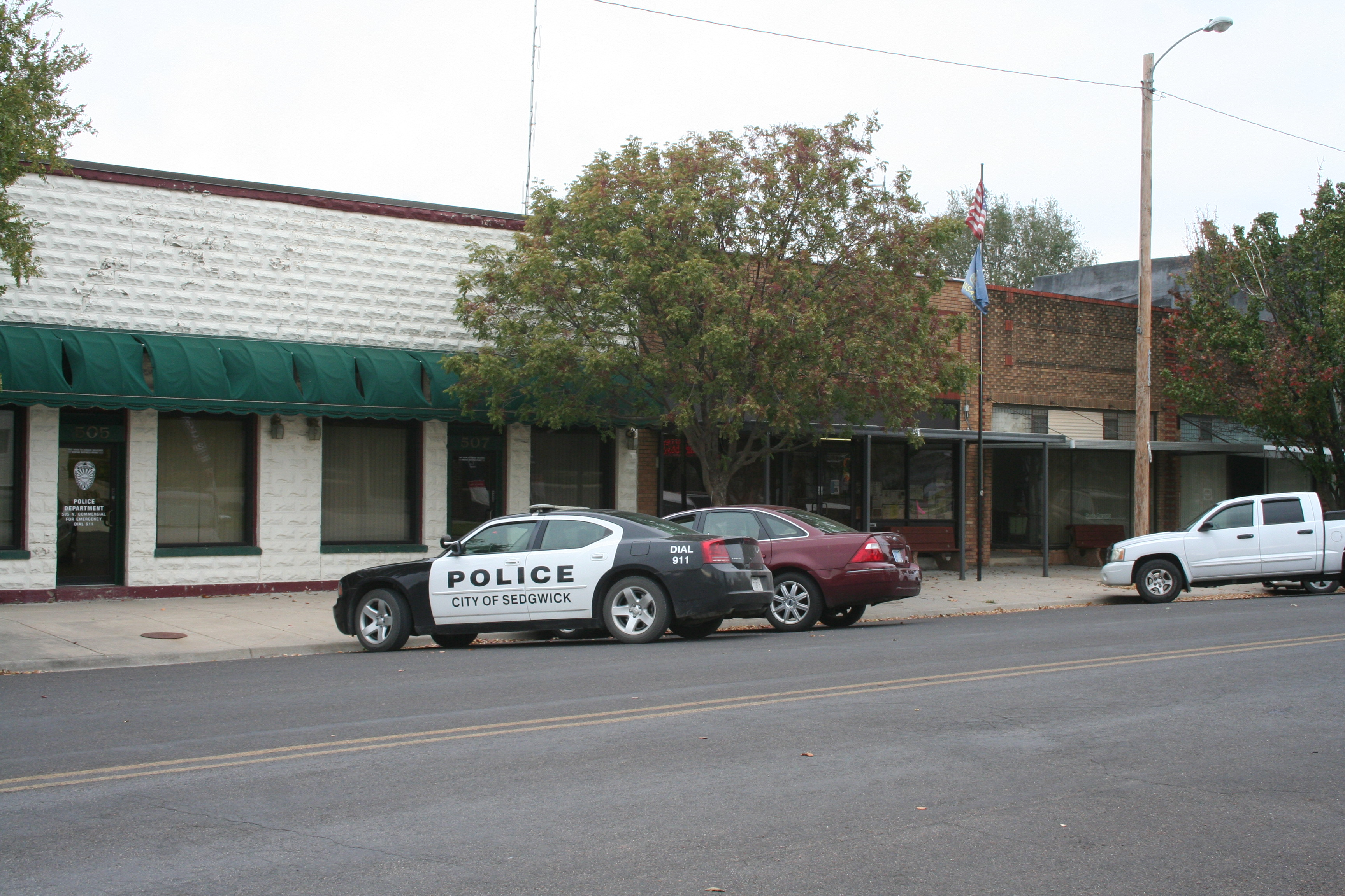 City of sedgwick city hall-police-community bldg