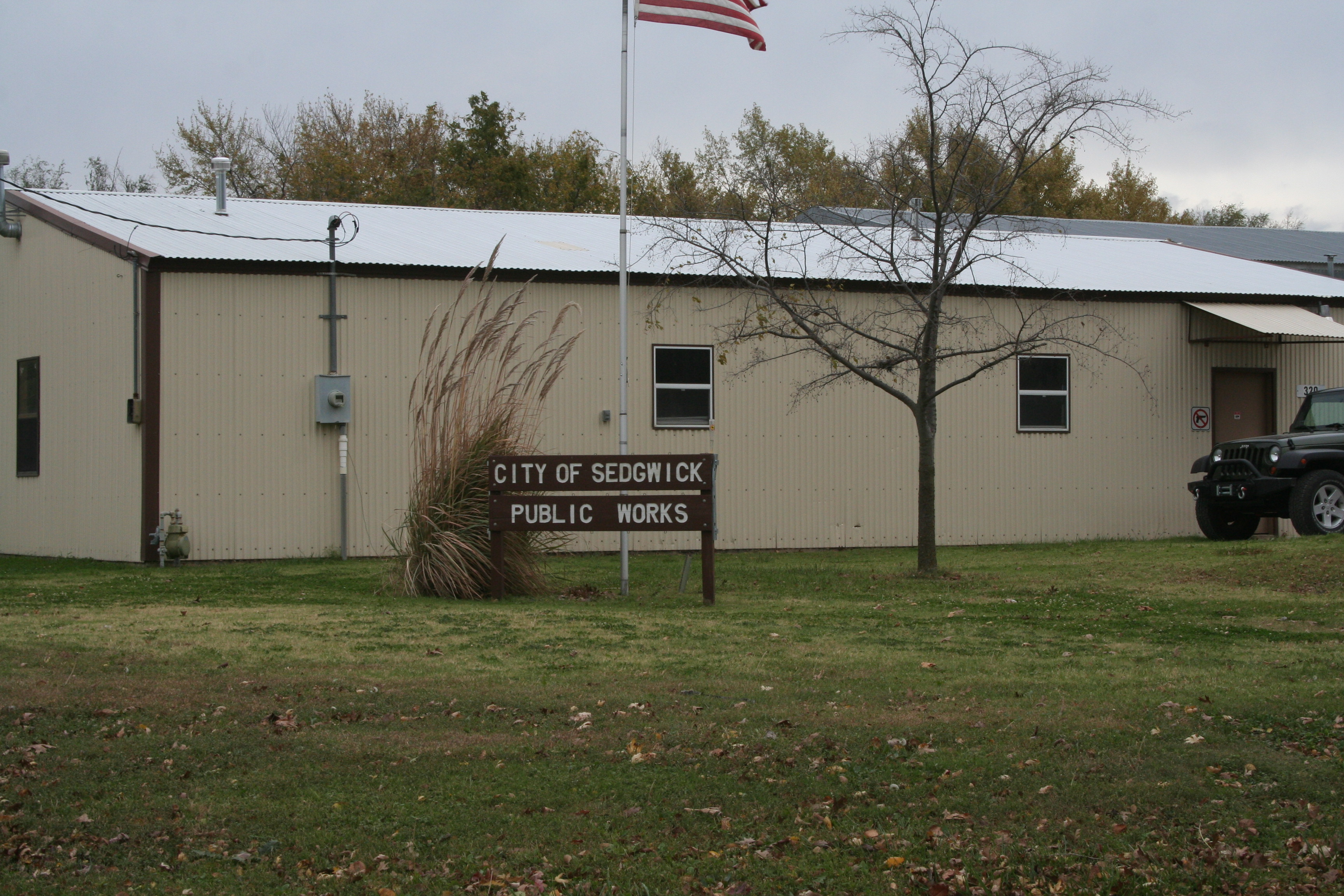 City of sedgwick public works