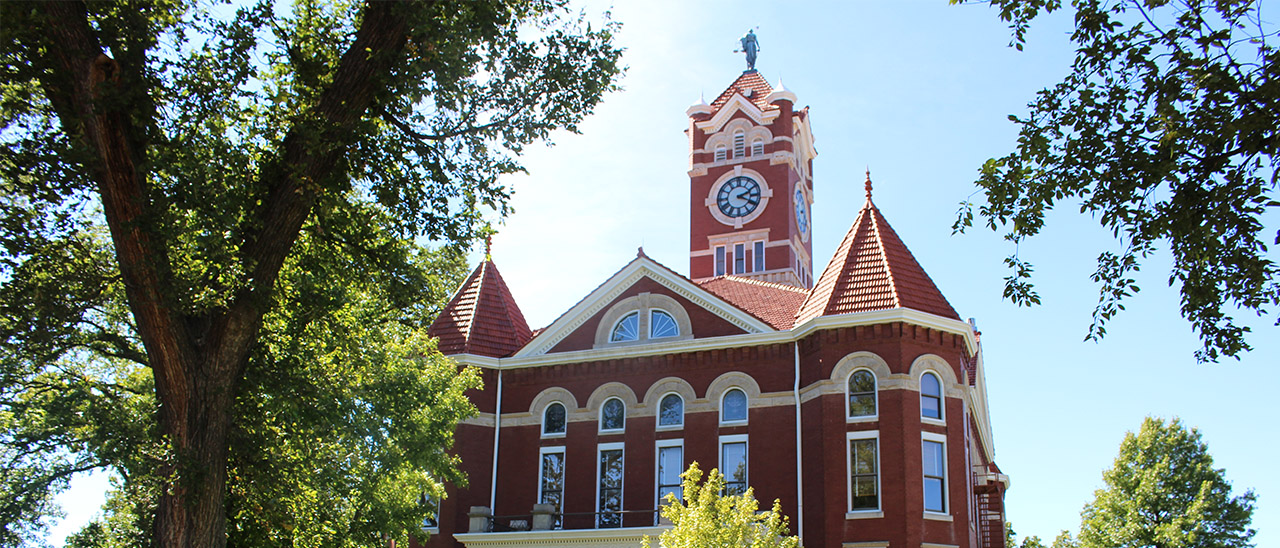 Harper county courthouse web